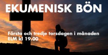 Ekumenisk bön