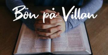 Bön på Villan